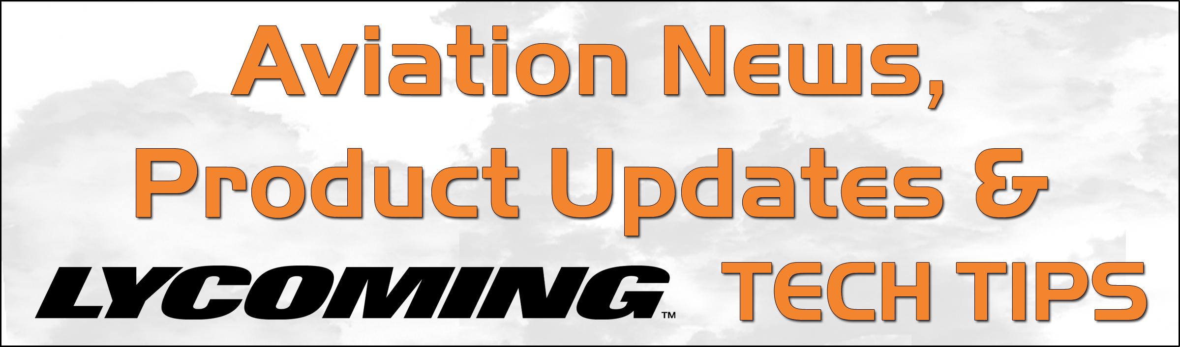 Aviation News & Product Updates